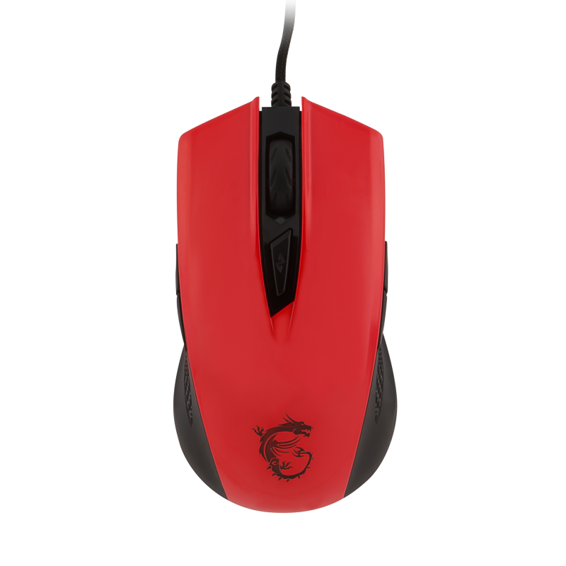 MSI mouse Clutch GM40 Red
