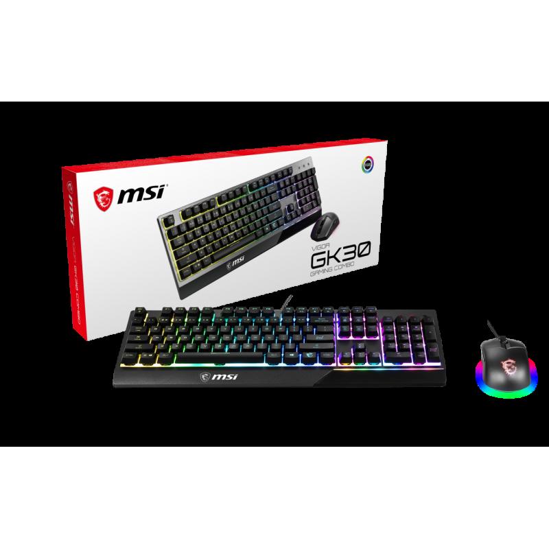 MSI Vigor GK30 combo tastiera e mouse