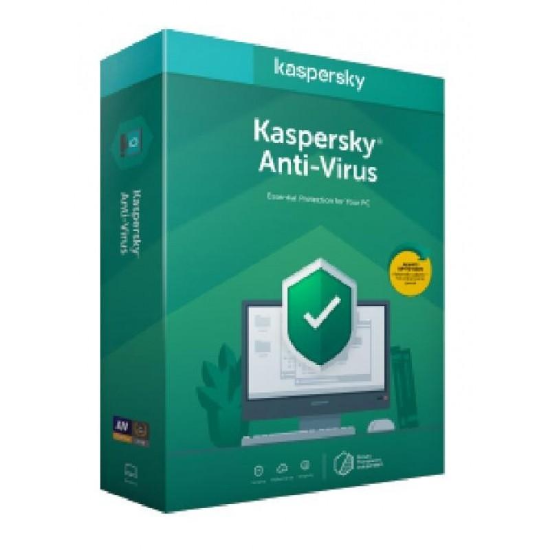 Kaspersky Antivirus 2021 1 dispositivo