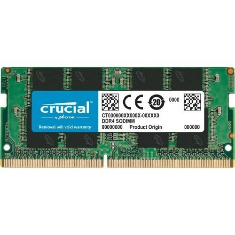Upgrade memoria RAM notebook: 32GB 3200Mhz so-ddr4